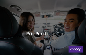 Pre-purchase tips